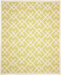 Safavieh Dhurries Dhu552a Light Green / Ivory Area Rug
