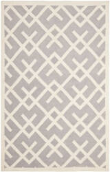 Safavieh Dhurries DHU552G Grey / Ivory Area Rug