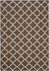 Safavieh Dhurries Dhu554c Brown / Ivory Area Rug