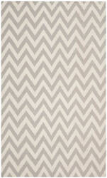 Safavieh Dhurries DHU557C Grey / Ivory Area Rug