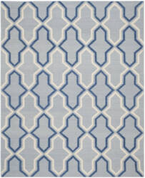 Safavieh Dhurries Dhu559b Light Blue / Dark Blue Area Rug