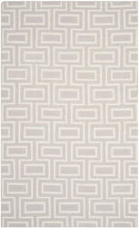 Safavieh Dhurries DHU562B Grey / Ivory Area Rug