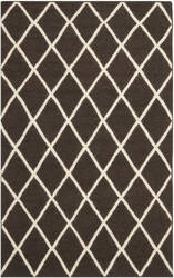 Safavieh Dhurries DHU565C Brown / Ivory Area Rug