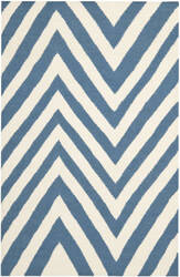 Safavieh Dhurries DHU568A Blue / Ivory Area Rug