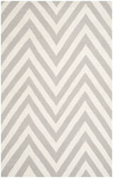 Safavieh Dhurries Dhu568b Grey / Ivory Area Rug
