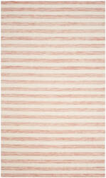 Safavieh Dhurries Dhu575d Rust - Ivory Area Rug