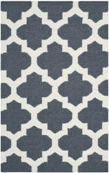 Safavieh Dhurries Dhu623b Blue / Ivory Area Rug