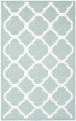 Safavieh Dhurries Dhu627a Blue / Ivory Area Rug