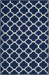 Safavieh Dhurries DHU627D Navy / Ivory Area Rug