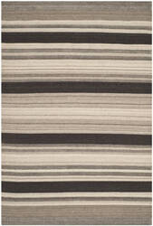 Safavieh Dhurries DHU628A Natural / Black Area Rug