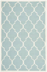 Safavieh Dhurries DHU632C Light Blue / Ivory Area Rug
