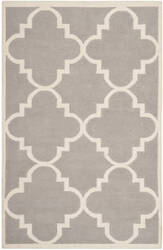 Safavieh Dhurries DHU633G Dark Grey / Ivory Area Rug