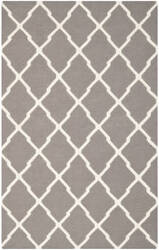 Safavieh Dhurries DHU634G Dark Grey / Ivory Area Rug