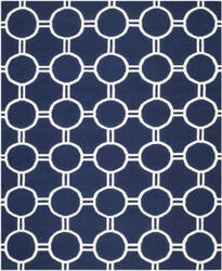 Safavieh Dhurries DHU636D Navy / Ivory Area Rug