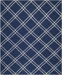 Safavieh Dhurries DHU638D Navy / Ivory Area Rug