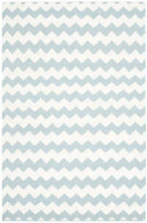 Safavieh Dhurries Dhu644c Ivory - Blue Area Rug