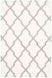 Safavieh Dhurries Dhu645a Ivory - Grey Area Rug
