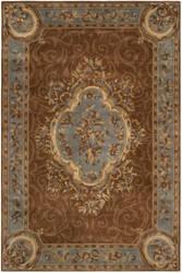 Safavieh Empire Em409a Blue - Brown Area Rug