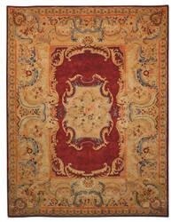 Safavieh Empire EM422A Burgundy / Gold Area Rug