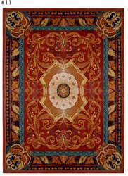 Safavieh Empire EM424A Red / Burgundy Area Rug
