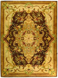 Safavieh Empire EM823B Brown / Beige Area Rug