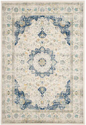 Safavieh Evoke Evk220c Ivory - Blue Area Rug
