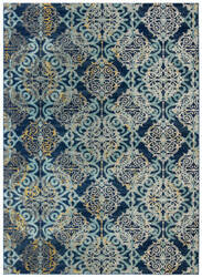 Safavieh Evoke Evk230a Royal - Light Blue Area Rug