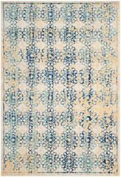 Safavieh Evoke Evk262c Ivory - Blue Area Rug
