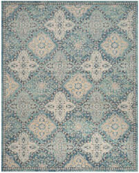 Safavieh Evoke Evk274c Light Blue - Ivory Area Rug