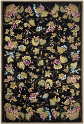 Safavieh Durarug Ezc731a Black - Multi Area Rug