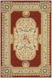 Safavieh Durarug Ezc755a Ivory - Red Area Rug