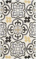 Safavieh Four Seasons Frs230a Grey - Ivory Area Rug
