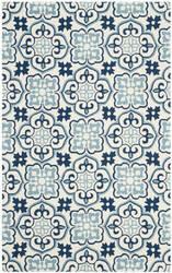 Safavieh Four Seasons Frs230b Blue - Ivory Area Rug
