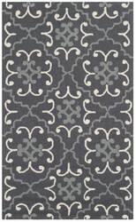 Safavieh Four Seasons Frs234c Dark Grey - Ivory Area Rug