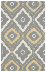 Safavieh Four Seasons Frs235b Grey - Ivory Area Rug
