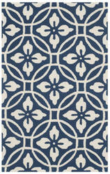 Safavieh Four Seasons Frs236h Navy - Ivory Area Rug