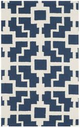 Safavieh Four Seasons Frs245h Navy - Ivory Area Rug