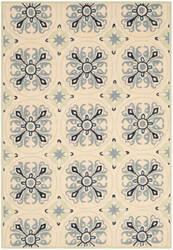 Safavieh Four Seasons Frs392a Ivory - Blue Area Rug