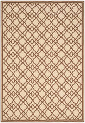 Safavieh Four Seasons Frs396a Ivory - Dark Brown Area Rug