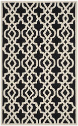 Safavieh Four Seasons Frs466a Black - Ivory Area Rug