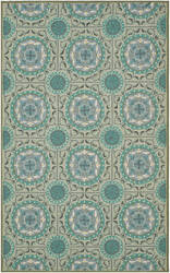 Safavieh Four Seasons Frs485d Mint / Aqua Area Rug