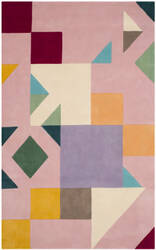 Safavieh Fifth Avenue Ftv118a Pink - Multi Area Rug