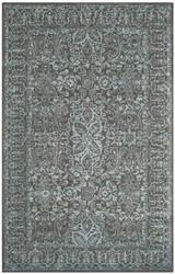Safavieh Glamour Glm516e Blue - Dark Grey Area Rug
