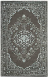 Safavieh Glamour Glm533d Dark Grey Area Rug