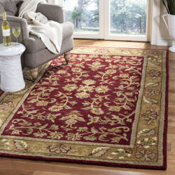 Safavieh Heritage HG170A Red - Gold Area Rug