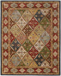 Safavieh Heritage HG316B Green / Red Area Rug