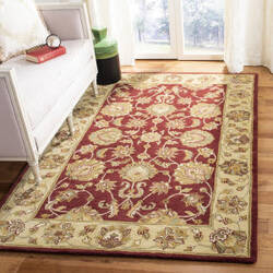 Safavieh Heritage HG343C Red - Gold Area Rug