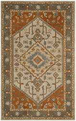 Safavieh Heritage Hg406a Light Blue - Rust Area Rug