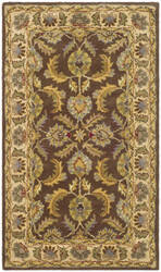 Safavieh Heritage Hg451a Brown / Ivory Area Rug