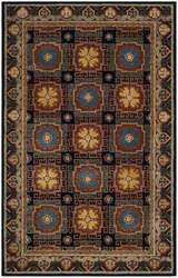 Safavieh Heritage Hg742n Navy - Orange Area Rug